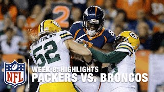 Packers vs. Broncos | Week 8 Highlights | NFL