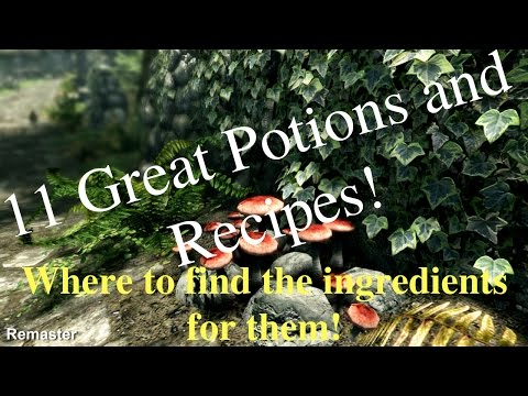 Skyrim:SE Where To Find Ingredients For Some Of The Best Potions