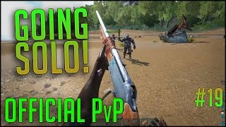 KILLING PEOPLE! | Official PvP Server | Episode 19 | ARK Survival Evolved Let's Play
