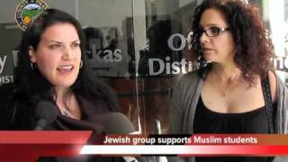 Jewish groups supports Irvine 11, Muslim human rights protestors