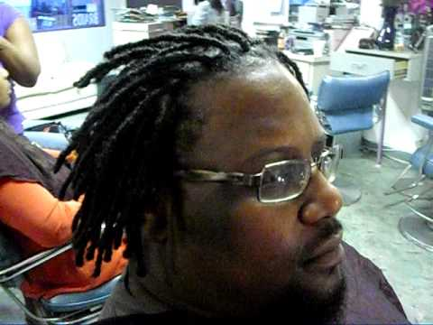 Real short dreadlock extensions done 323 937 8825 youtube pmusecretfo Images