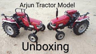 Arjun 605 DI Tractor Model Unboxing