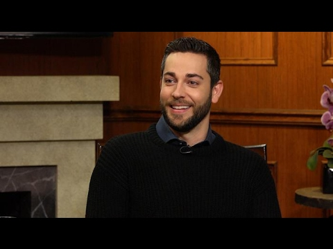 Zachary Levi on the st...