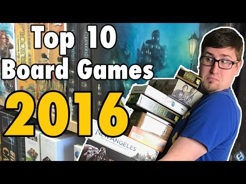 JWittz's Top 10 Board Games 2016