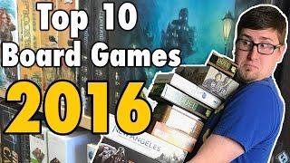JWittz's Top 10 Board Games 2016