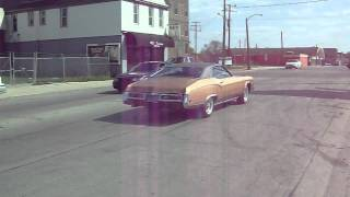 1970 buick riviera gs burnout