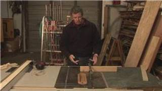 Home Repair Tools : Cutting Angles On A Table Saw