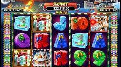 Rudolph's Revenge Slot Machine Bonus Round