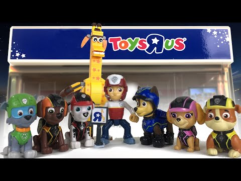 Paw Patrol Saves Toys R Us || Playtime With Keith's Toy Box
