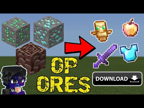 How to Install Minecraft But Ores Drops OP Items For Minecraft Download For Minecraft Java Editon