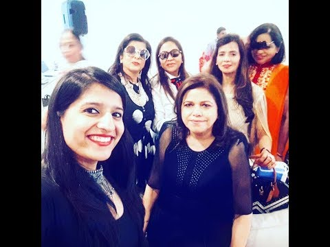 Anchor Lovely Mehrotra Hosting High Profile Kitty Paty For Women's Club