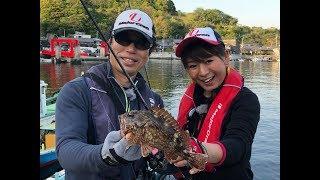 今回は広瀬達樹さんと釣女ちゃこが、宇和島での漁港でライトゲームを紹...