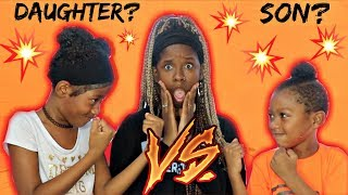 """YOUR SISTER VS. YOUR BROTHER"" 