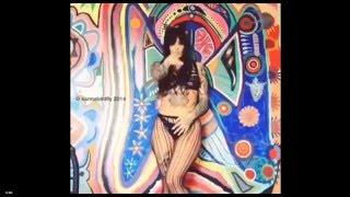 Stunning Karma Bird Erotic Tattoo Model