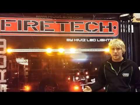 DOT SAE J2042 Compliant Marker Lights on Firetruck Cabs