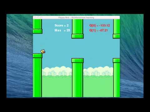 Flappy bird - Reinforcement learning