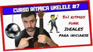 UKELELE FUNK tutorial 🍍 5+1 RITMOS de FUNK para Ukelele (¡fácil y divertido!) 👌