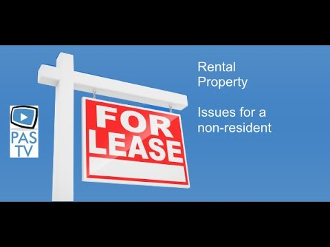Property - Issues for a Non Resident