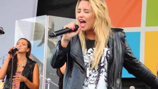 Without The Love - Demi Lovato (Live Microsoft 9/21/13)