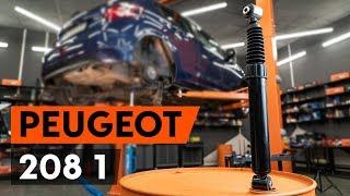 Hvordan bytte Støtdempere PEUGEOT 208 - online gratis video