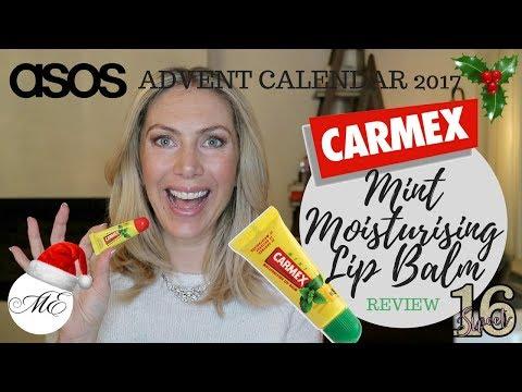 Carmex Mint Moisturising Lip Balm Review   ASOS Beauty Calendar 2017   ME by Melanie Eggers