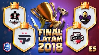CRL LATAM: FINAL Cream eSports - Pain Gaming - Red Canids - Vivo Keyd