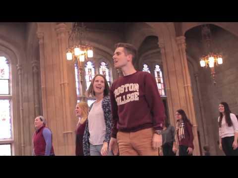 University Chorale of Boston College Christmas 2015