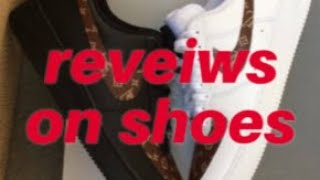 reveiws on shoes