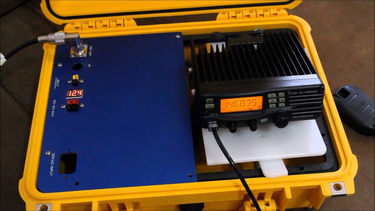 Pt 2 - Ham radio Go Box / GoBox in Pelican 1450