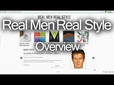 Overview of Real Men Real Style – Men's Fashion Advice Blog Website