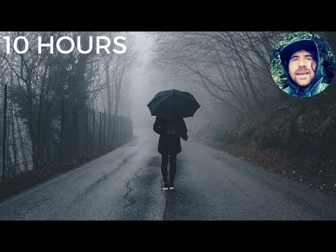 Insomnia Rainstorm with Gentle Thunder Sounds | Relaxing Rain Sounds for Sleeping Problems & Anxiety