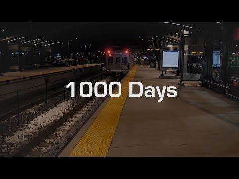 1,000 Days of Service on the University of Colorado A Line