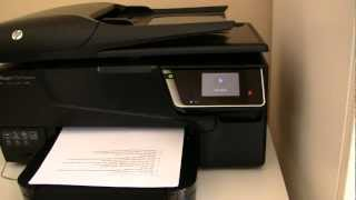 Ausprobiert: HP Officejet 6700 Premium Multifunktionsdrucker Hands-On [German]