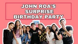 VLOG #17: JOHN ROA'S (JRoa) SURPRISE BIRTHDAY PARTY