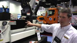 Video still for Omaha Standard Palfinger Unveils Line-X Protective Coating System at NTEA 2019