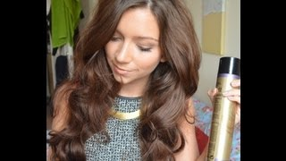 One of dizzybrunette3's most viewed videos: Big Wavy Hair Tutorial: How I Style My Hair l Dizzybrunette3