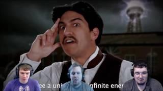 ERB - Thomas Edison vs. Nikola Tesla | DarkStar Reacts