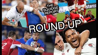 England v Tonga Wales v Georgia Italy v Namibia Samoa v Russia Squidge Report Round Up
