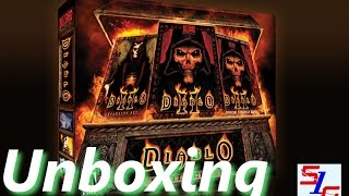 Diablo 2 Battle Chest Unboxing PC HD