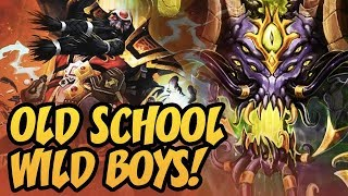 Old School Wild Boys! | Rastakhan's Rumble | Hearthstone