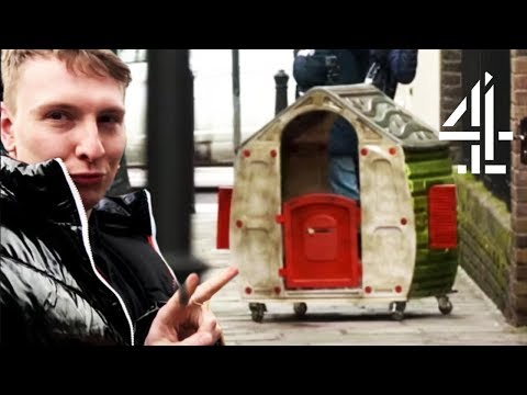 Joe Lycett TESTS SpareRoom By Advertising Kids Playhouse?? | Joe Lycett's Got Your Back