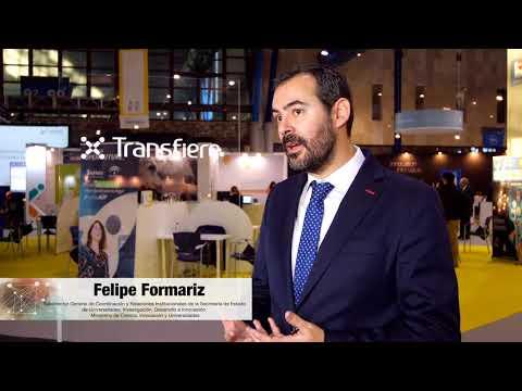 Entrevista a Felipe Formariz | Ministerio de Ciencia, Innovación y Universidades | Transfiere 2019