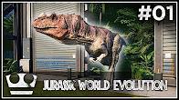 Stavím svůj Jurský Park! - JURASSIC WORLD EVOLUTION #01 [ 4K ]