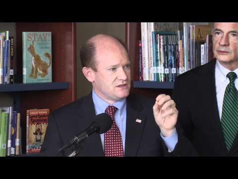 Senator Coons commits to reforming education