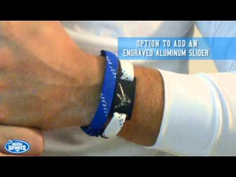 Hockey Wrister Lace Bracelet