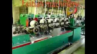 square pipe (tube) making line(, 2014-01-09T02:39:30.000Z)