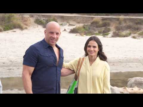 Furious 7 Behind The Scenes - Vin Diesel, Paul Walker, Dwayne Johnson, Michelle Rodriguez