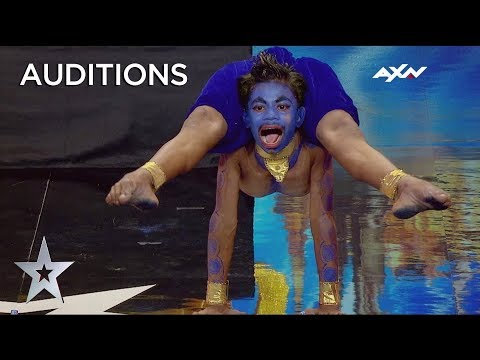 UNBREAKABLE 16 Year Old CONTORTIONIST Aditya SHOCKS Everyone With His Moves | Asia's Got Talent 2019