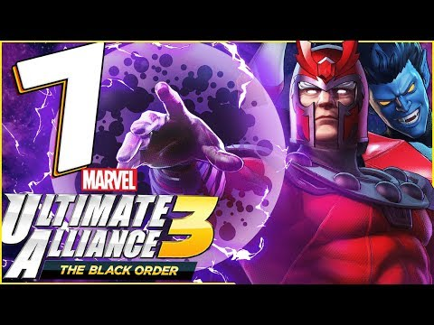 marvel-ultimate-alliance-3:-the-black-order-walkthrough-part-7-x-men-xavier-institute-(co-op)