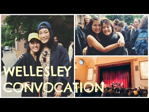 Convocation at Wellesley College: Senior Year!